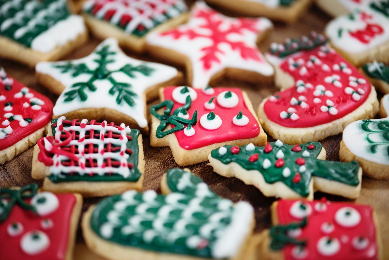 christmas sugar cookies cut out holiday baking
